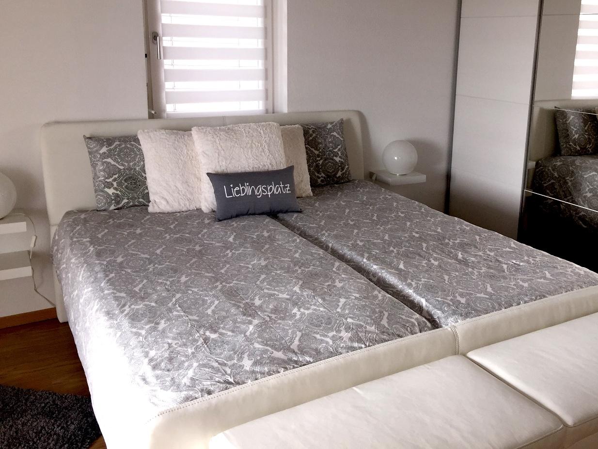 Gestaltung eines Schlafzimmers