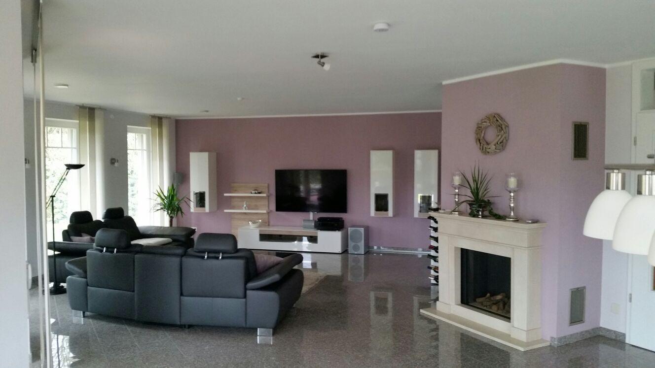 Wohnzimmer nach der Raumplanung